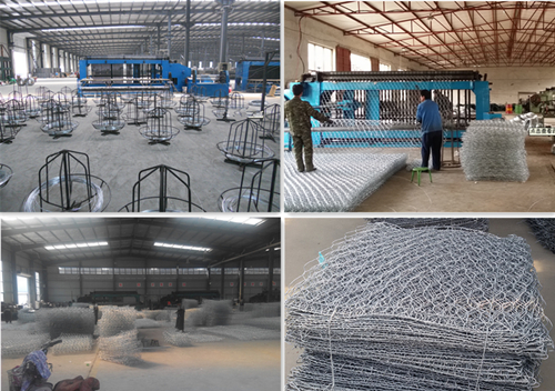 Made in China Anping Factory Hexagonal Wire Mesh/Gabion Basket
