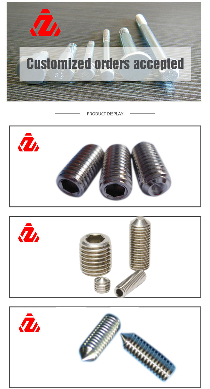 Made in China Stainless Steel Set Screw