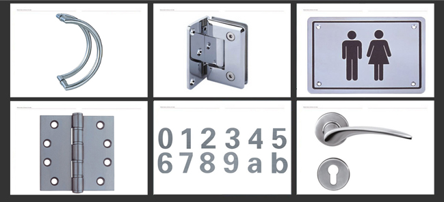 Stainless Steel 4inch 5inch 4bb Door Hinge
