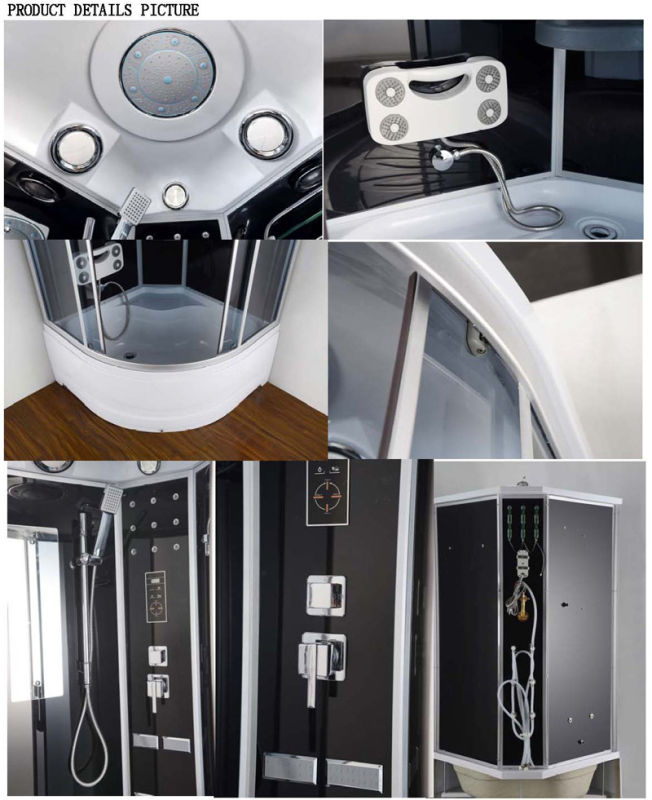 Computerized Steam Sauna Massage Shower Cabin (AC-64H)