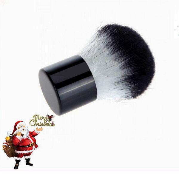 Goat Hair Makeup Cosmetic Retractable Kabuki Powder Blush Brush