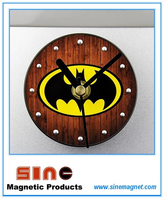 Fashion Creative Perspective Batman Fridge Magnetic Clock
