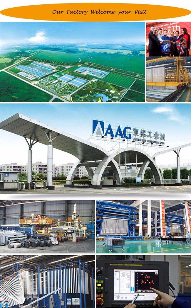 OEM Aluminum/Aluminium Industrial Extrusion Profile with RoHS/Ce/ISO/As2047/Aama