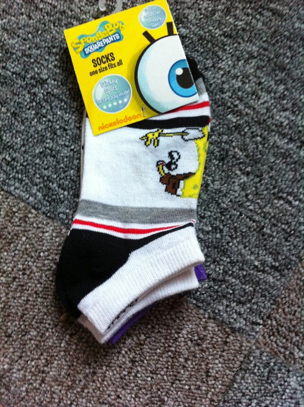 100% Cotton Made From Fine Cotton Children Socks