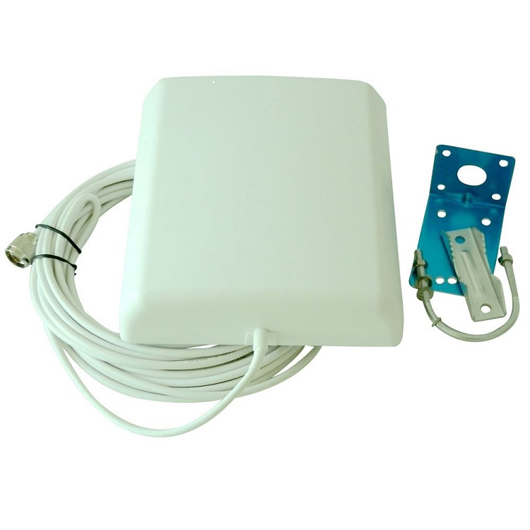Full Kit GSM/3G WCDMA 850/2100 850MHz/2100MHz Dual Band 65dB Gain Mobile Phone Signal Repeater