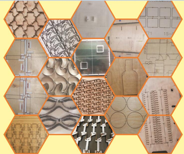 Round Wood Laser Die Cutting Machine/Round Die Board CO2 Laser Cutting Machine