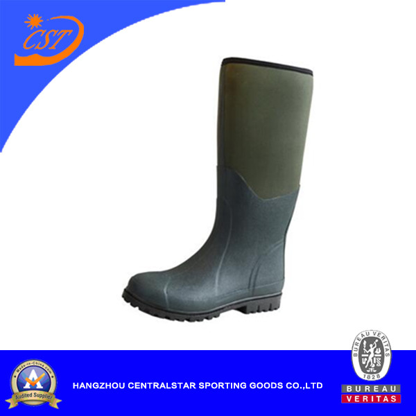 Fashion Waterproof Fishing/Hunting Rubber Boots (66450B)