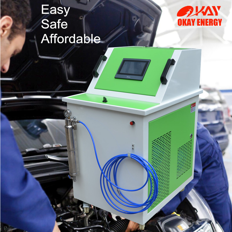 Top Selling Okay Energy Engine Care Products Hho Gas Generator Carbon Cleaning System