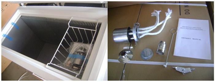 Xd200 LPG Gas Chest Freezer 3 Way Chest Freezer