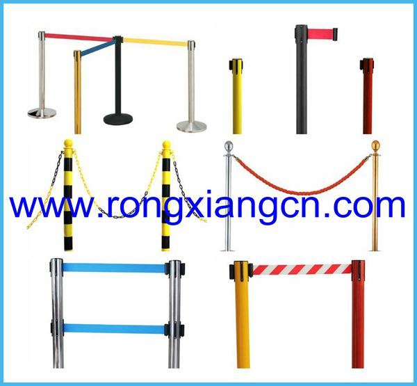 Retractable Parking Barrier Post Que Manager