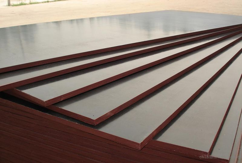 21mm Formwork Laminated Plywood Poplar Core Brown Film
