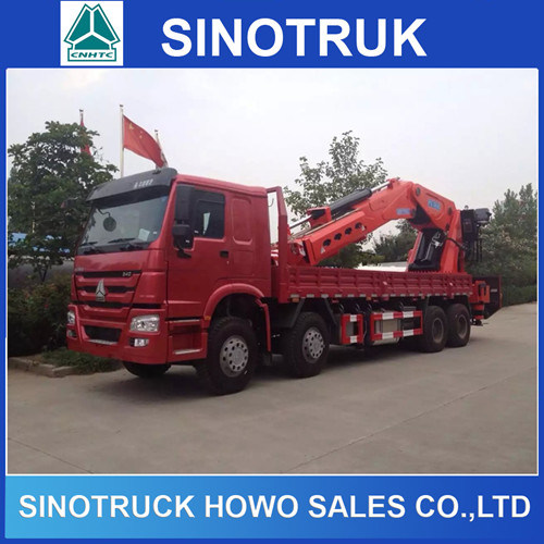 8tons Chinese Telescopic Cargo Crane for Sale