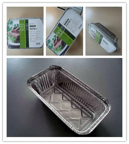 Aluminum Material Takeaway Food Containers