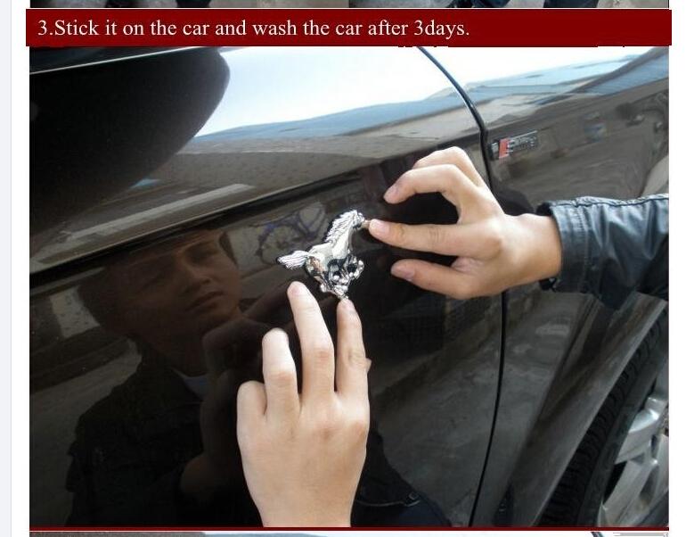 Car Body Badge Unique ABS Car Badge Chrome Auto Logo 3D Car Logo