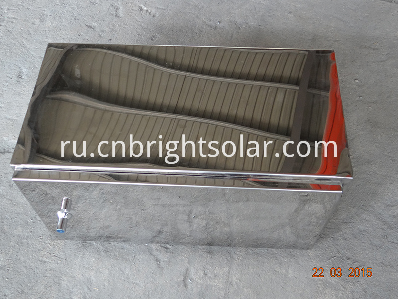 Stainless Steel Mirror Battery Box With Lock