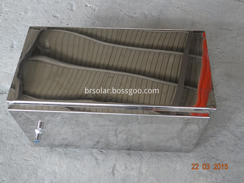 Steel battery box