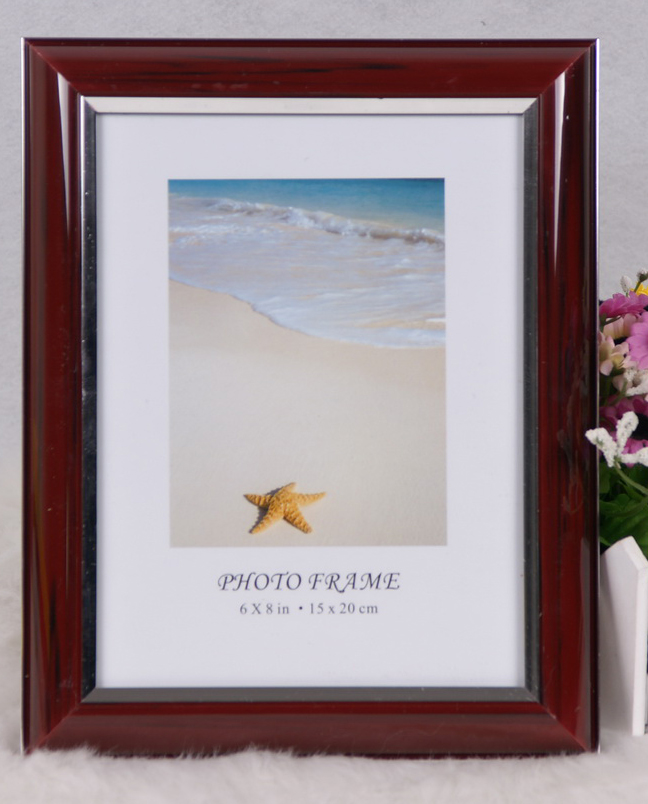 Wooden Grain Frame by Plastic (BRS)