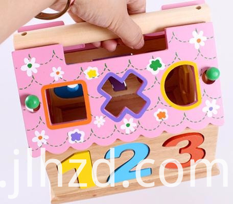 Lovely Digital House Wood Toy