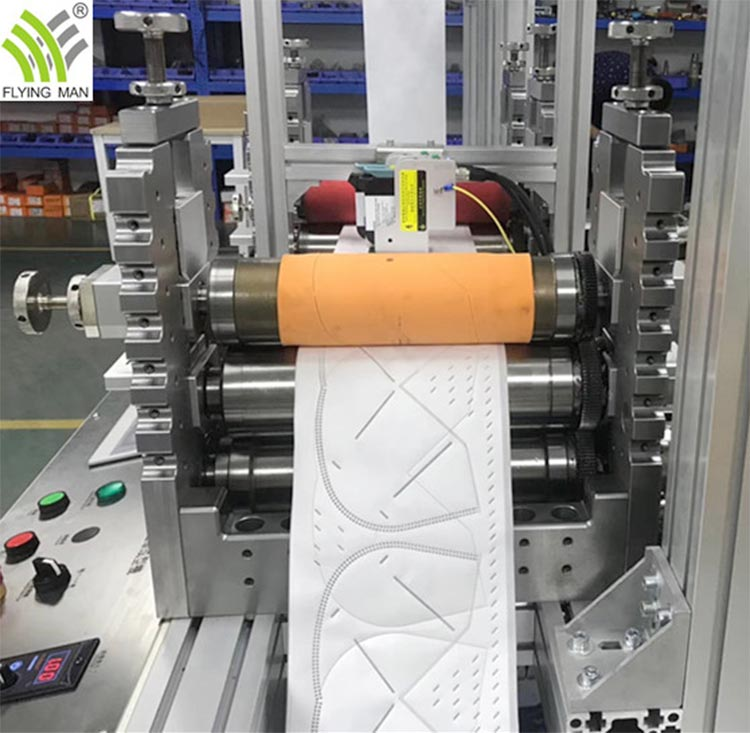 High Speed KN95/N95 Mask Forming Making Machine