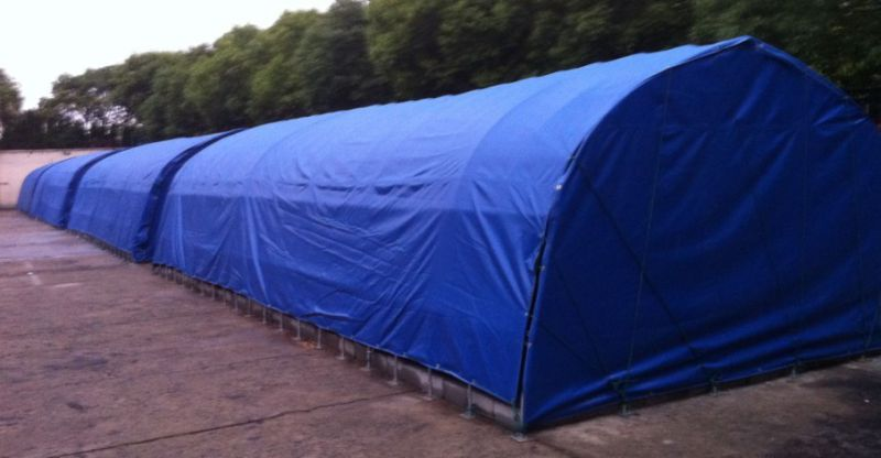 Tarpaulin Covers in 100% Polyester Canvas Fabric for Awning