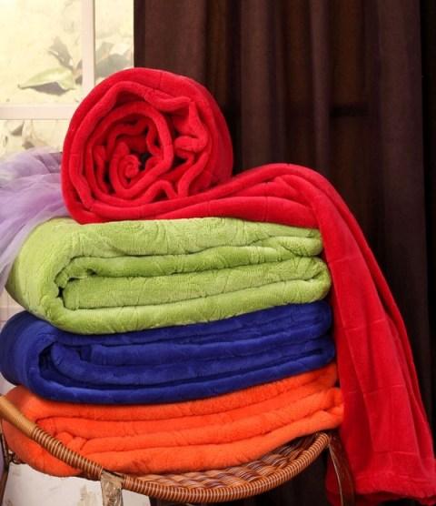 Super Soft Coral Fleece Blanket (SSB1019)