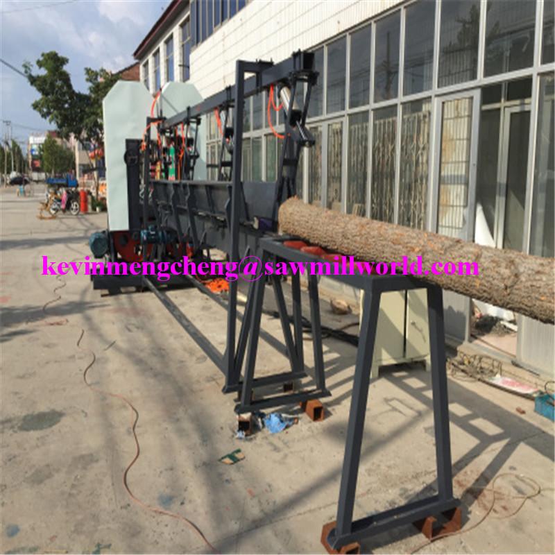 CNC Automatic Band Sawmill High Frequency Twin Vertical Saw Cutting Machine