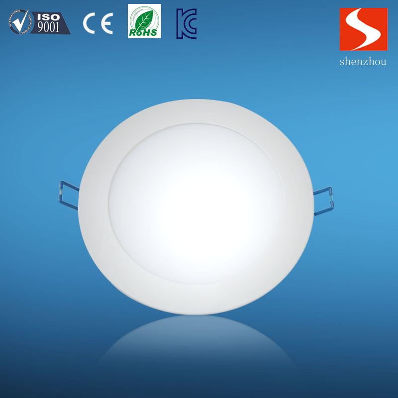 6W Slim Round LED Panel