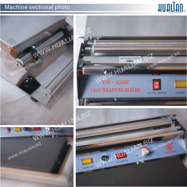 Hualian 2016 Cling Film Tray Wrapping Sealer (TW-450E)
