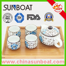 OEM and ODM Customized Enamel Teapot and Cups