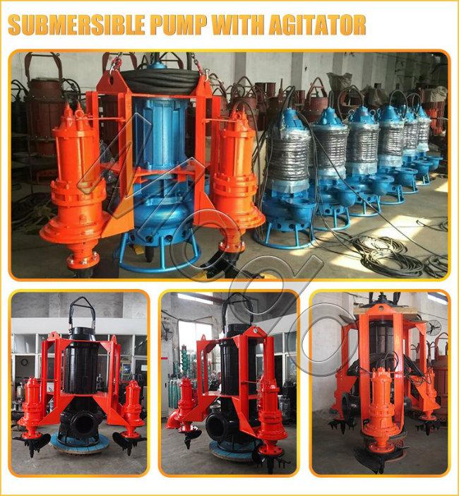 Hydraulic Agitator Submersible Slurry Pump for Dredging