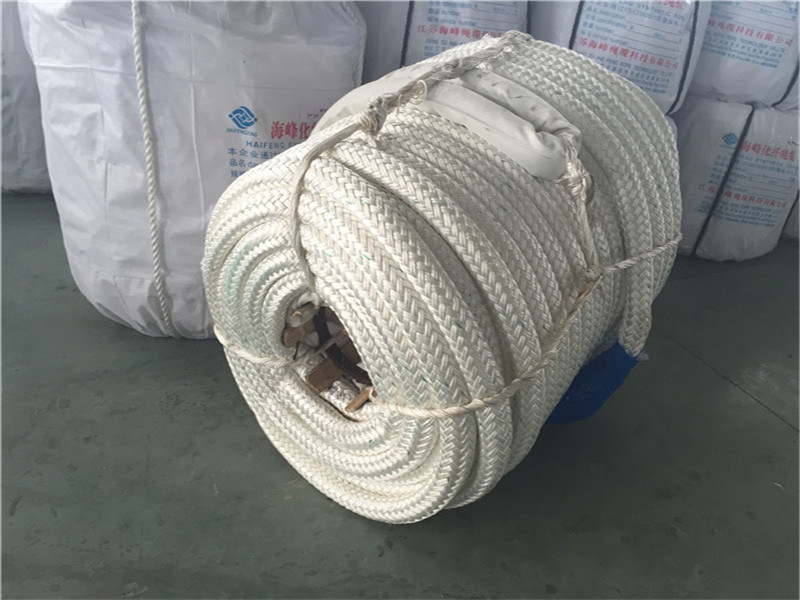 68mm Polyester Polypropylene Hybrid Bilayer Strands of Rope