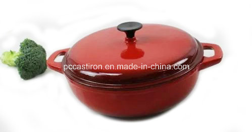 Enamel Cast Iron Sauce Pot Manufacturer From China