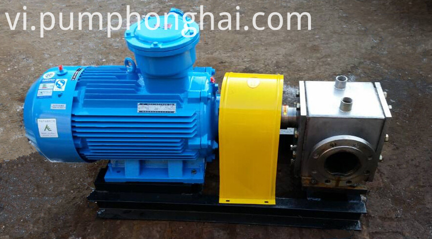 LQB series heat insulation gear pump