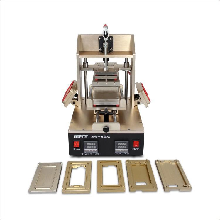 Tbk LCD Repair Equipment Oca Vacuum Laminator Machine+ 14 Inch Separtor Machine+ 7 Inch Separtor Machine Built-in Vacuum