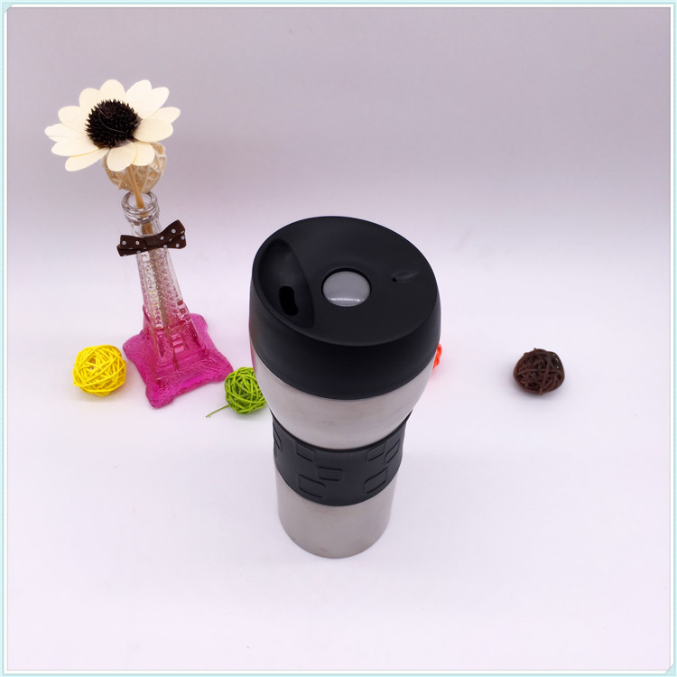 450ml Stainless Steel Thermal Mug with Leakproof Design Lid, Food Safety (SH-SC01)