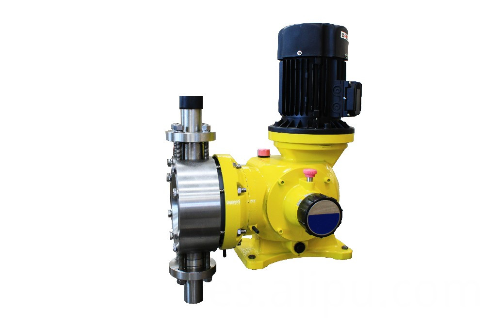 Aquarium diaphragm metering pump