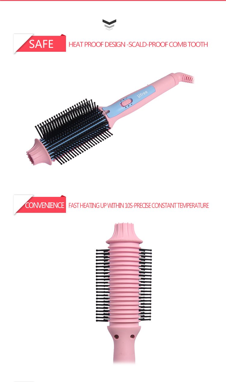 Ufree Small Hair Comb Brush for Home Use