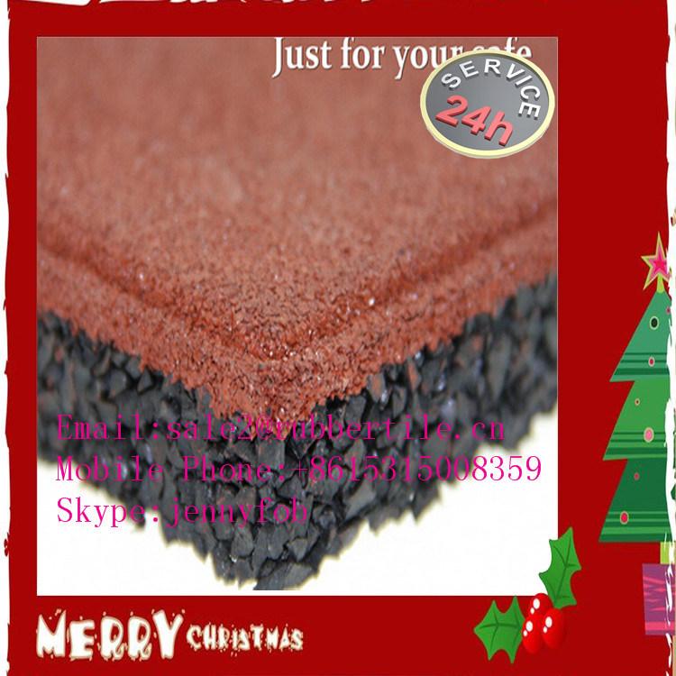 En1177 Colorful Safe Gym Rubber Flooring Mat, Crossfit Flooring