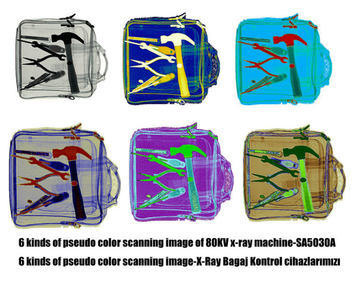 Economical X-ray Security Equipment Airport Baggage Scanner Inspection Detector with CE SA5030A
