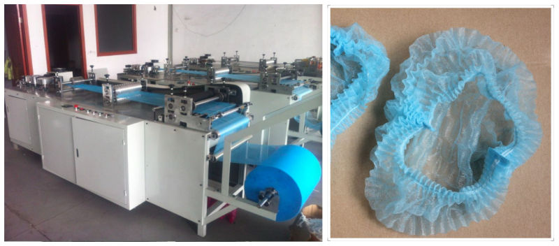 Disposable Non Woven Mob Cap Making Machine