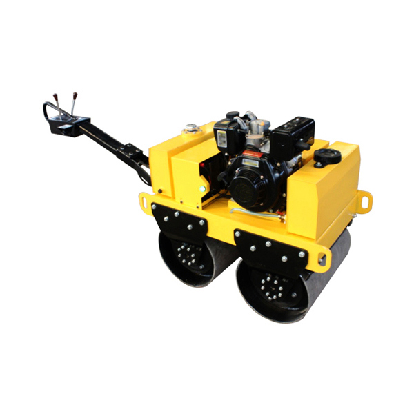 Zm-50 540kg Gasoline Walk Behind Double Drum Vibratory Road Roller