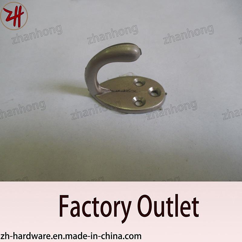Zinc Alloy Beautiful Design Double Clothes Hanger Cat Hooks (ZH-2052)
