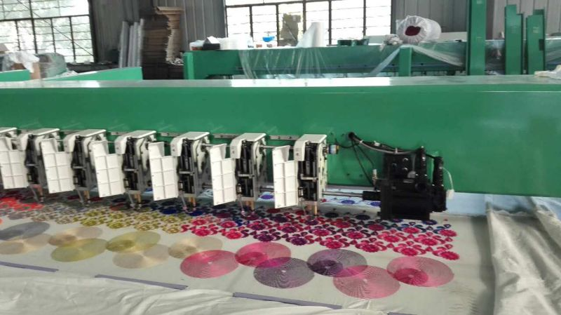 Cheap Price Chenille Embroidery Machine for Garment Industry