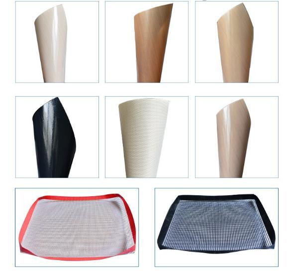 Anti-Acid/Corrosion-Resistant/Heat-Resistant PTFE Coated with Fiberglass Fabric