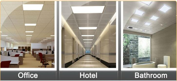 New Design Beam Angle 120 Double Color Square Panel Light/LED Ceiling