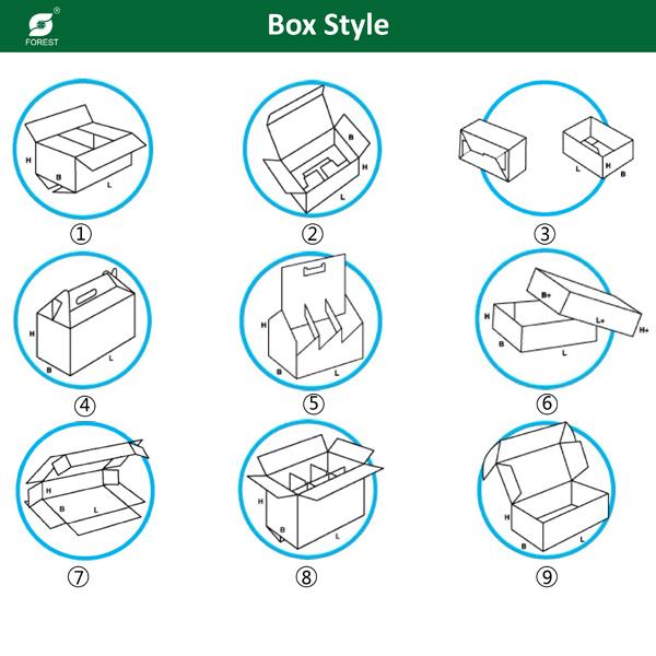 Custom Printed Candy Box Paper Gift Box