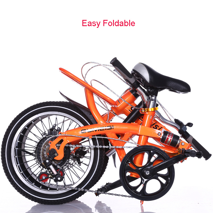 New Design 20 Inch Foldable Bike 7 Speed High Quality Folding Bike