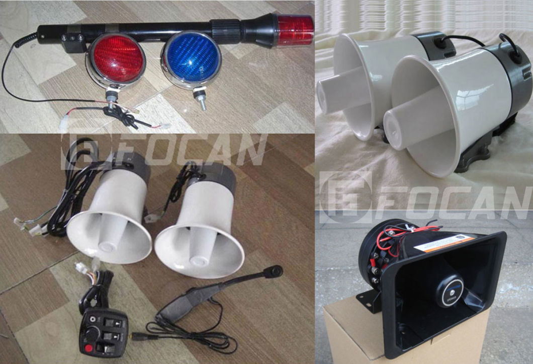 Police Strobe Light, motorcycle Siren Speaker