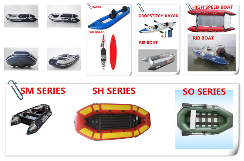 Inflatable Motor Boat for Fishing
