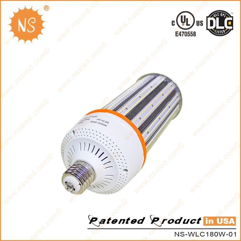 UL DLC AC277V 4000K E39 E40 27000lm 180W LED Corn light